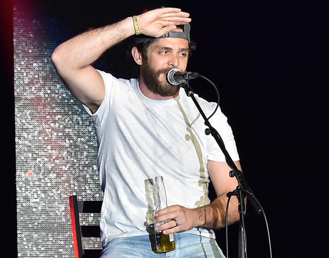 "Thomas Rhett on new single ""Beer Can't Fix"" with Jon Pardi [LYRIC VIDEO]"