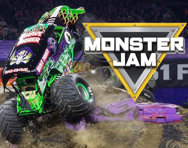 Win a 4-Pack of Monster Jam Tickets with B104