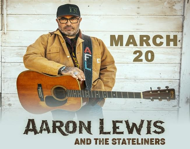 Win Tickets To Aaron Lewis With Twisted Trivia