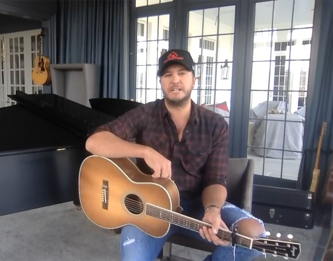 Luke Bryan Announces New Album and Tour on Social Media Live [VIDEO]