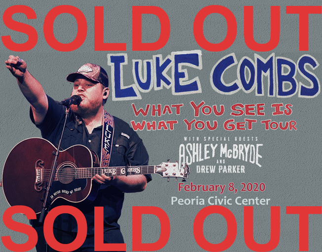 Win Tickets to SOLD OUT Luke Combs Peoria Concert