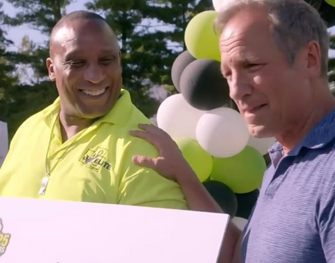 'Dirty Jobs' Star Mike Rowe Surprises Peoria Man Carl Cannon with $50,000 For His Work With Local Youth