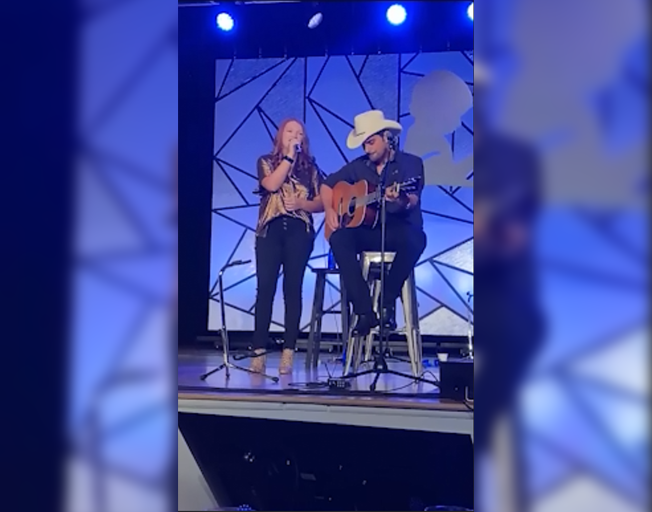 Brad Paisley Makes Surprise Appearance at St. Jude with Patient Addie Pratt [VIDEOS]