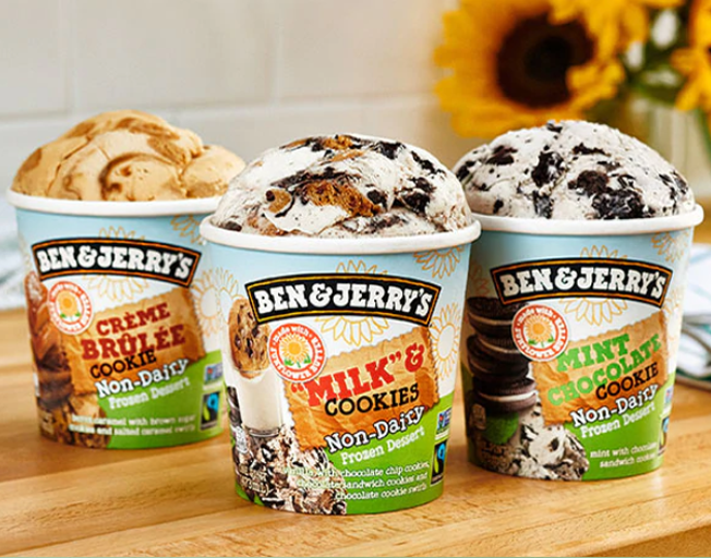 Ben & Jerry's Debuts New Non-Dairy, Sunflower Butter Ice Cream