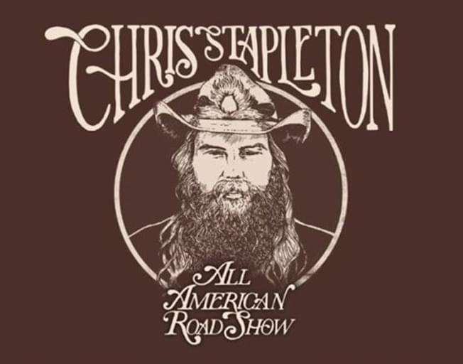 Chris Stapleton Announces All-American Road Show Tour At Wrigley Field