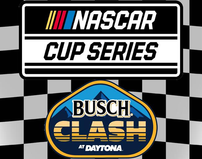 2020 NASCAR Cup Series and Busch Clash at Daytona Logos
