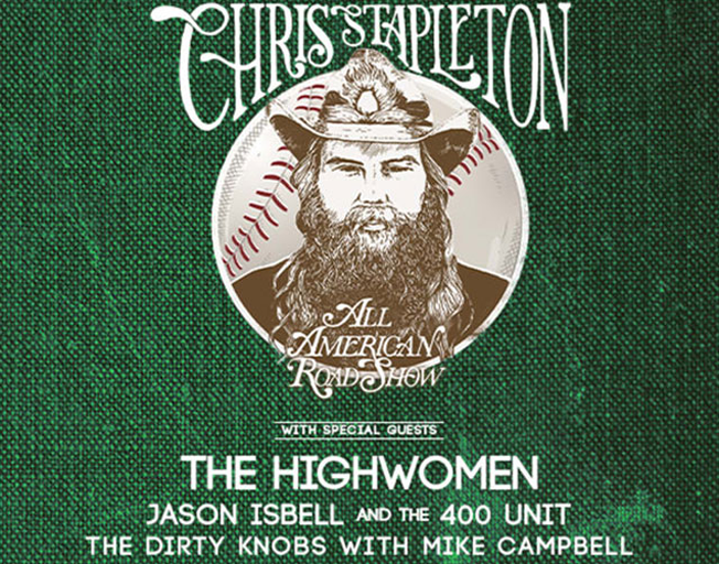 Win Tickets to Chris Stapleton at Wrigley Field