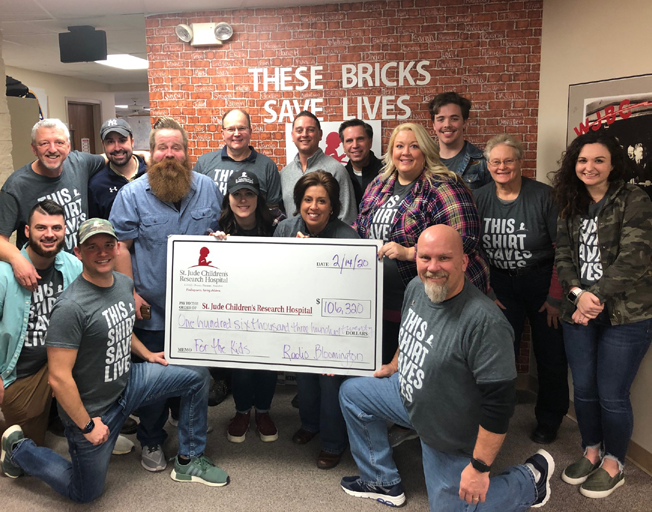 THANK YOU for Helping Raise $106,320 for St. Jude with B104!