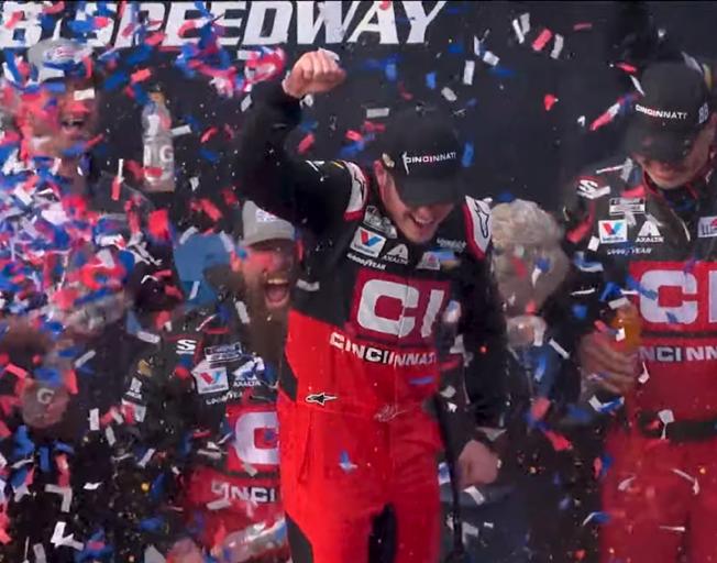 Alex Bowman Dominates in Auto Club 400 NASCAR Win [VIDEO]