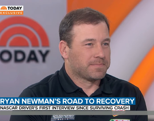 Ryan Newman Opens Up About Terrifying Daytona 500 Crash on 'Today' Show [VIDEO]