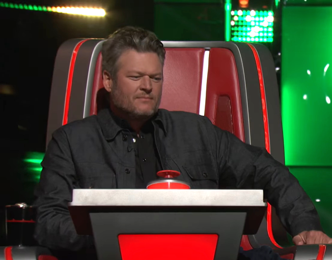 Blake Shelton on season 18 of 'The Voice'