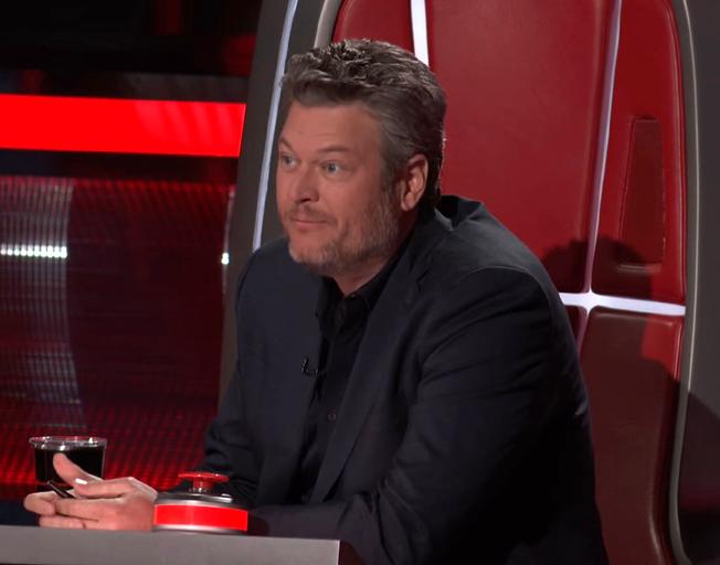 Blake Shelton on season 18 of 'The Voice' (Photo credit: YouTube)