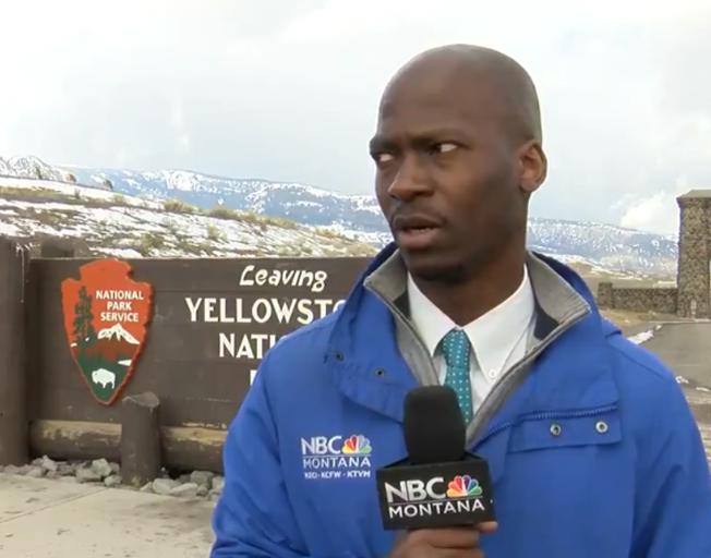 NBC Montana reporter Deion Broxton