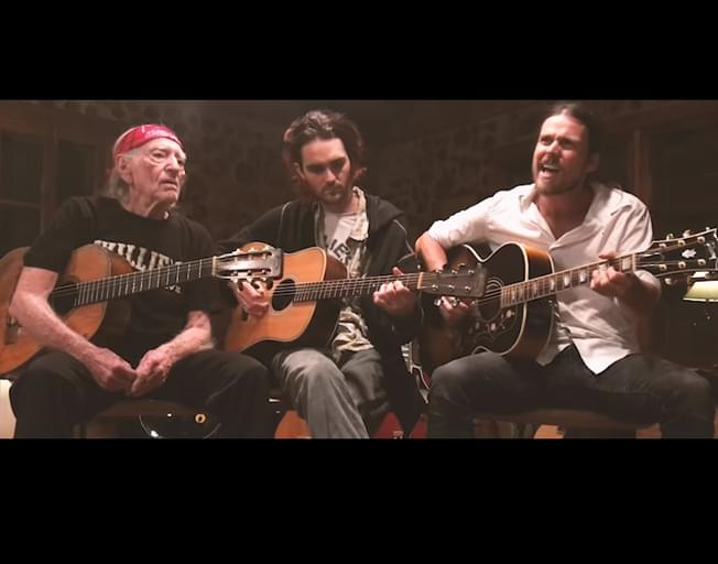 Willie Nelson And Sons Perform Uplifting 'Turn Off the News' [VIDEO]