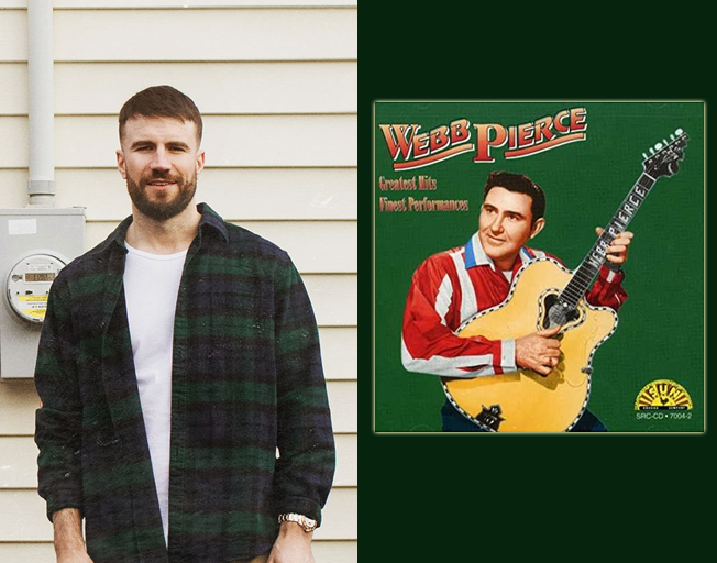 """Listen to Webb Pierce song Sam Hunt Samples in new single """"Hard To Forget"""""""