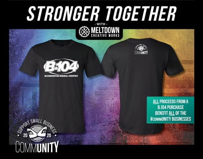 Buy Your Own B104 #commUNITY Shirt