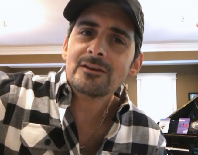 Brad Paisley has a Message for the Class of 2020