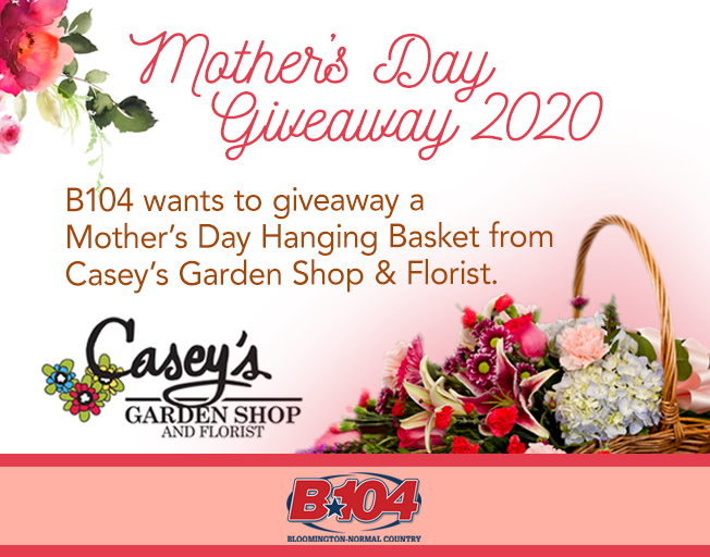 Win A Mother's Day Floral Arrangement From Casey's Garden Shop For Mom