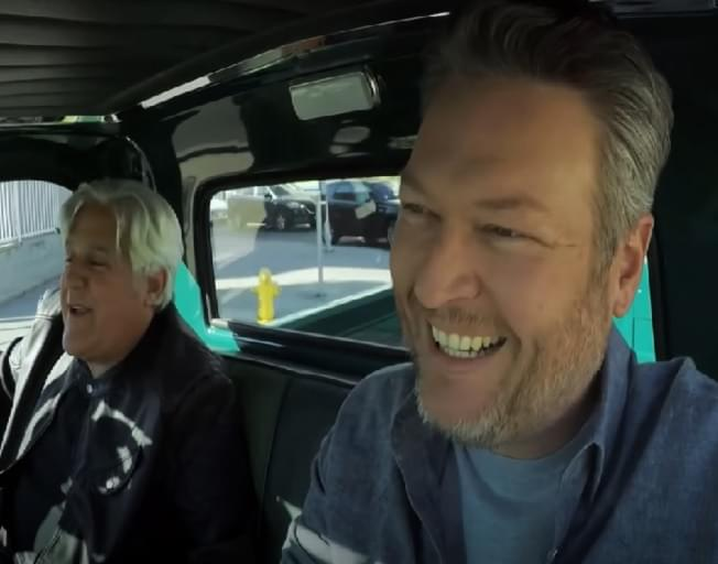 Blake Shelton Takes Joyride In Elvis Presley's Truck On Jay Leno's Garage