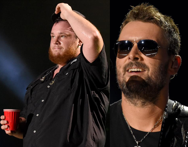 Luke Combs Talks About Getting to Know His Hero Eric Church