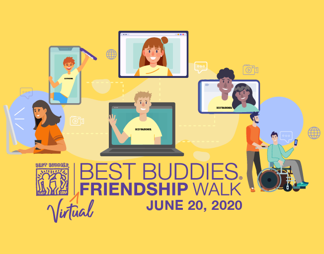 Join B104 for the Best Buddies Virtual Friendship Walk