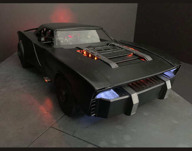 "New Batmobile for ""The Batman"" Revealed"