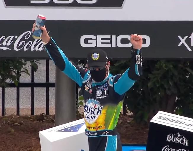 Kevin Harvick Dominates in Atlanta NASCAR Win [VIDEO]