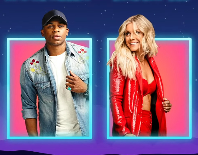 Jimmie Allen and Lindsay Ell on Hosting Today's 'CMA Summer Stay-Cay'