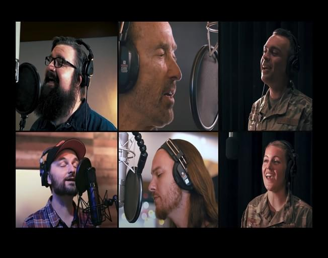Lee Greenwood Releases Incredible New Version Of 'God Bless The USA' With United States Air Force Band and Home Free [VIDEO]