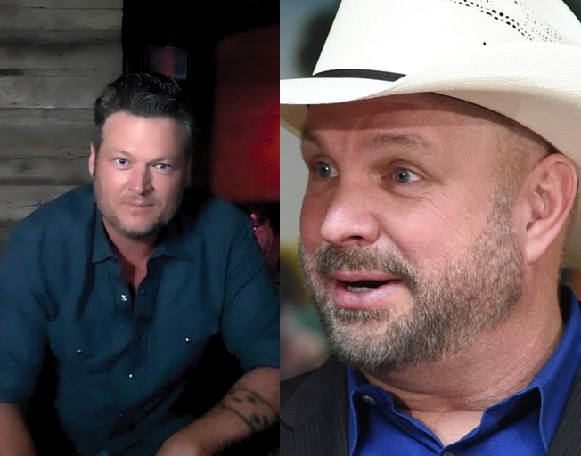 Blake Shelton Sounds Off: Garth Brooks Is the 'Entertainer of the Century'