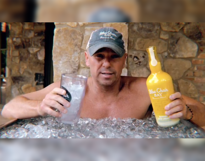 Kenny Chesney Shows the Correct Way to Drink His New Rum [VIDEO]
