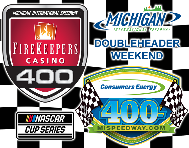 It's a NASCAR Doubleheader Weekend at Michigan International Speedway