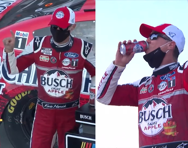 Kevin Harvick Dominates in Nearly Perfect NASCAR Michigan Doubleheader Sweep [VIDEOS]