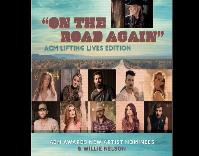 "Willie Nelson Remakes ""On The Road Again"" With ACM New Artist Nominees"