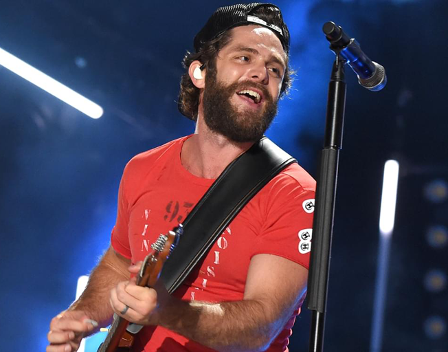 Thomas Rhett has Missed the Intoxicating Feeling of Being On Stage