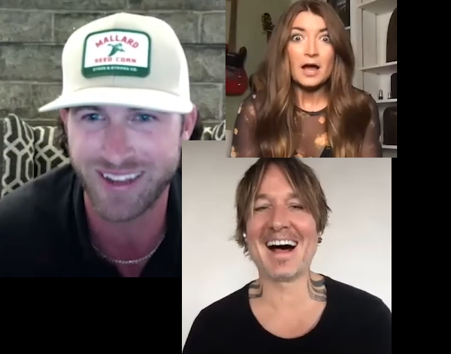 Watch Keith Urban Surprise ACM New Artist Nominees Riley Green And Tenille Townes