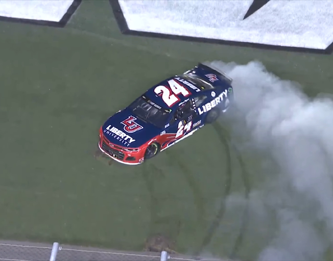 William Byron Clinches Playoff Spot at Daytona with 1st NASCAR Cup Win [VIDEO]