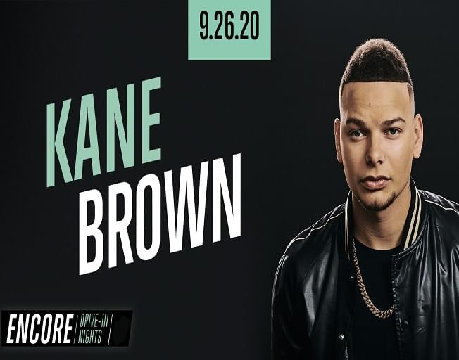 Kane Brown Hosts ONE NIGHT ONLY Drive-In Concert Event September 26th