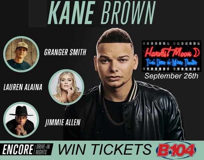 Win MORE Tickets to Kane Brown with B104