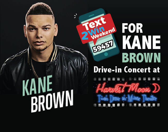 Win Dinner And A Show With Tickets To Kane Brown And A $50 Firehouse Pizza Gift Card