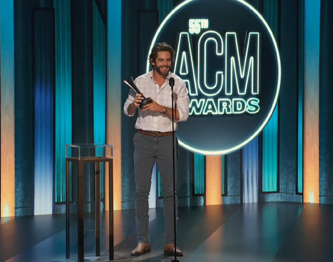Thomas Rhett Doesn't Feel Like the New Guy Anymore After ACM Entertainer of the Year Win