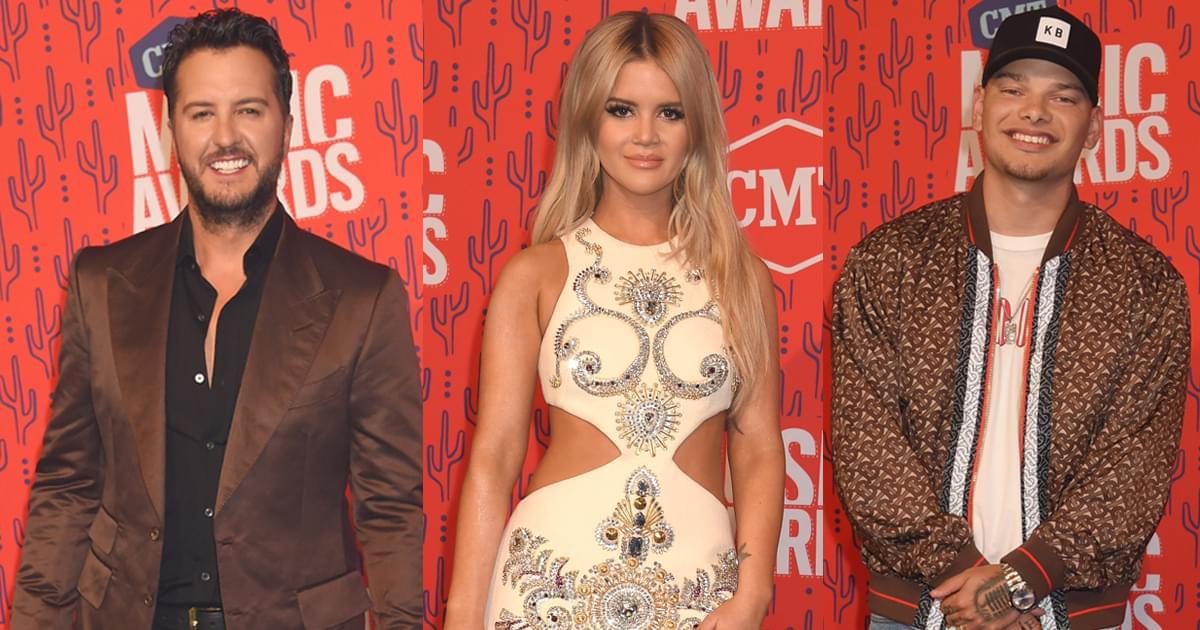 Luke Bryan, Maren Morris, Kane Brown, LBT, Dan + Shay & Ashley McBryde to Perform at CMT Awards