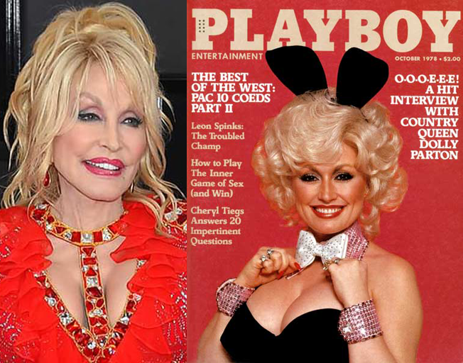 Dolly Parton Reveals She Is in Talks With Playboy