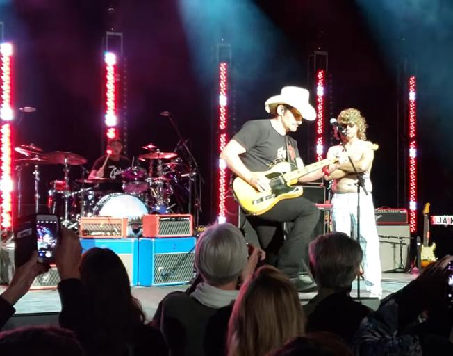 Brad Paisley Tributes Eddie Van Halen With Crazy 'Hot for Teacher' Cover [VIDEO]