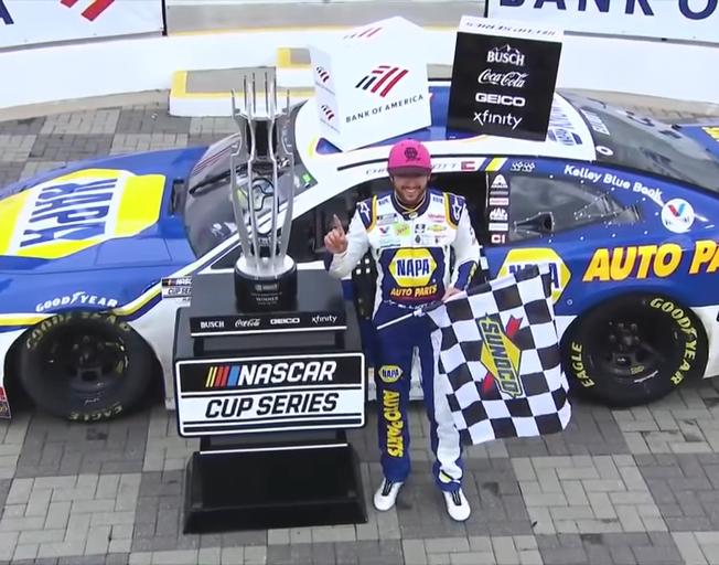 Rain Tires to Slicks as Chase Elliott Wins ROVAL Again in NASCAR Elimination Race