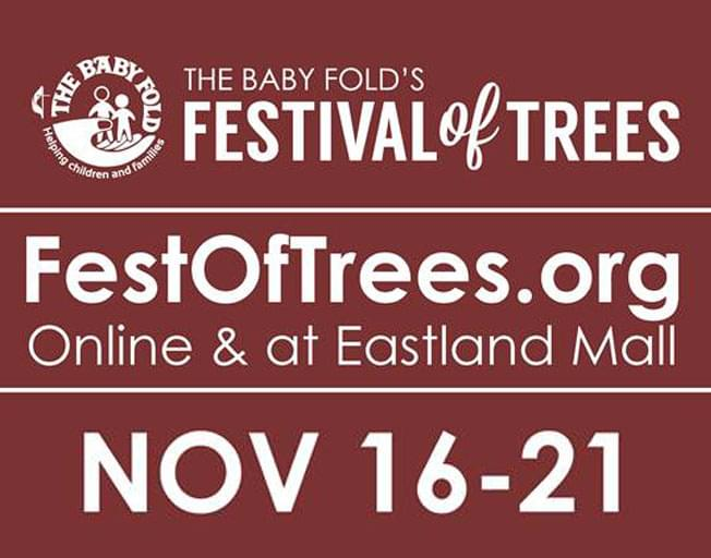 Join B104 for the Hybrid Festival of Trees