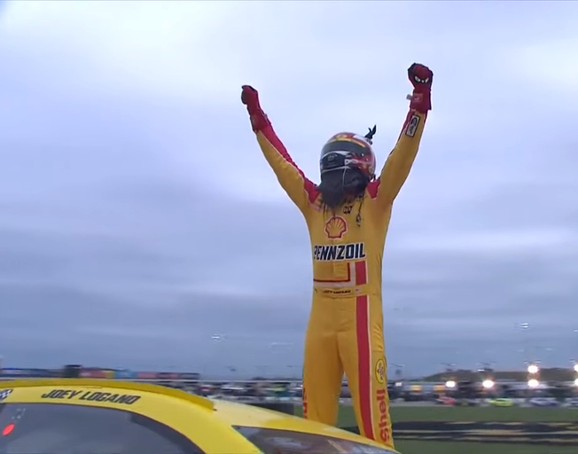 Joey Logano First to NASCAR Championship Four with Kansas Win [VIDEO]