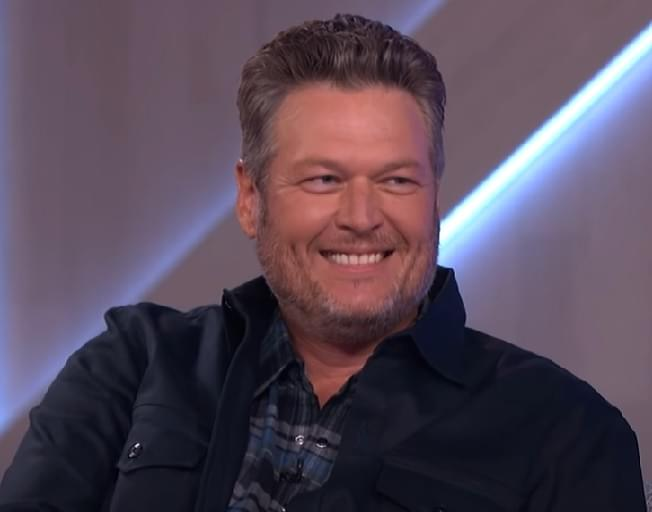 "Blake Shelton Recalls His Pageant Days As ""Break It Down Blake"" [VIDEO]"