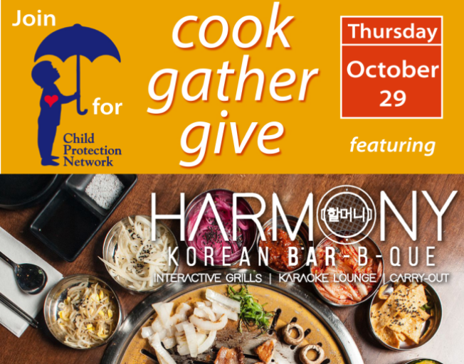 Cook, Gather, Give for Child Protection Network