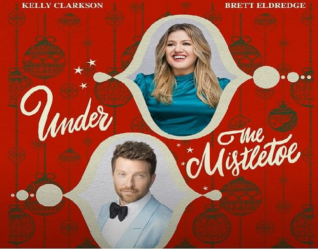 Kelly Clarkson and Brett Eldredge Meet 'Under The Mistletoe' In New Song